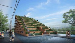Vietnam's Pavilion at Expo 2015 Competition Entry / H&P Architects