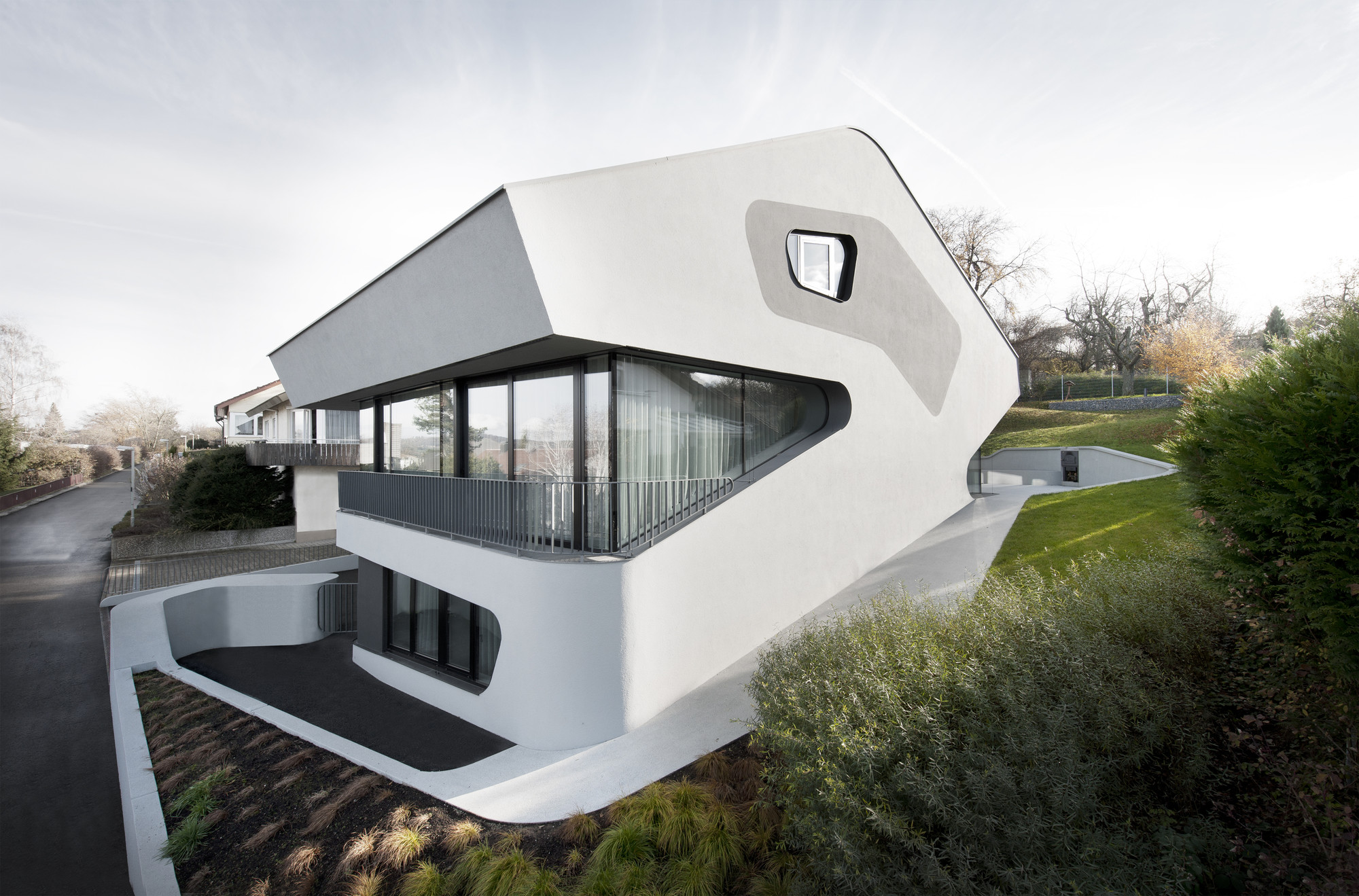 Ols house j mayer h architects archdaily for Futuristic home designs