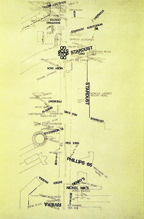 The Indicator: The Pritzker's Better Half, Robert Venturi and Denise Scott Brown, Las Vegas, Strip Message Analysis