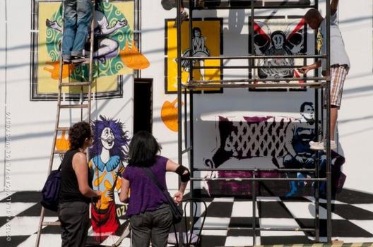 A rua é de todos - Dia do Graffiti no Bixiga, Via Mistura Urbana