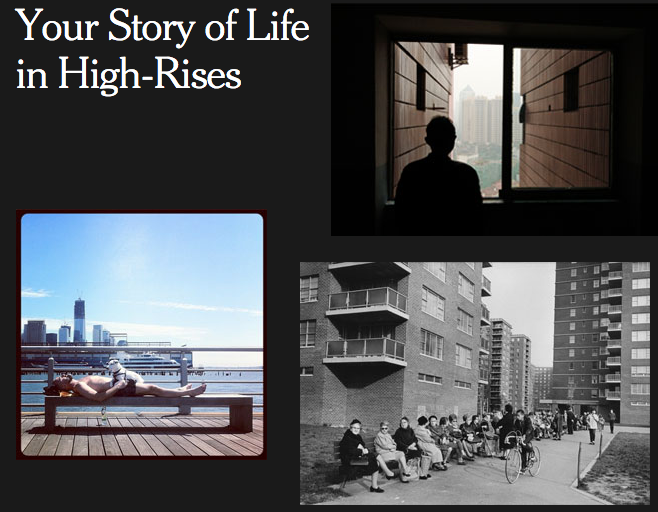 The New York Times Wants Your Images of High-Rise Life, Screenshot from The New York Times.