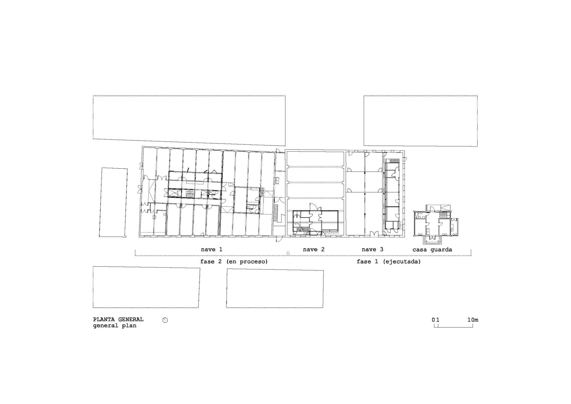 Hangar Artistic Creation Centre,Floor Plan