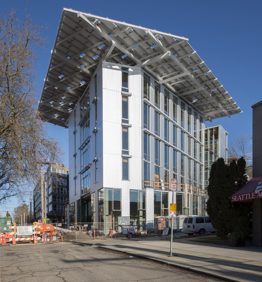 The 'World's Greenest Commercial' Building Opens in Seattle Today