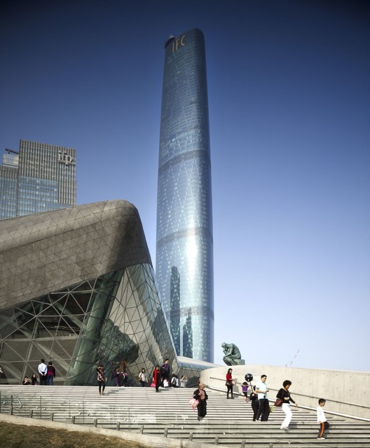 IFC Guangzhou / Wilkinson Eyre Architects, © Christian Richters