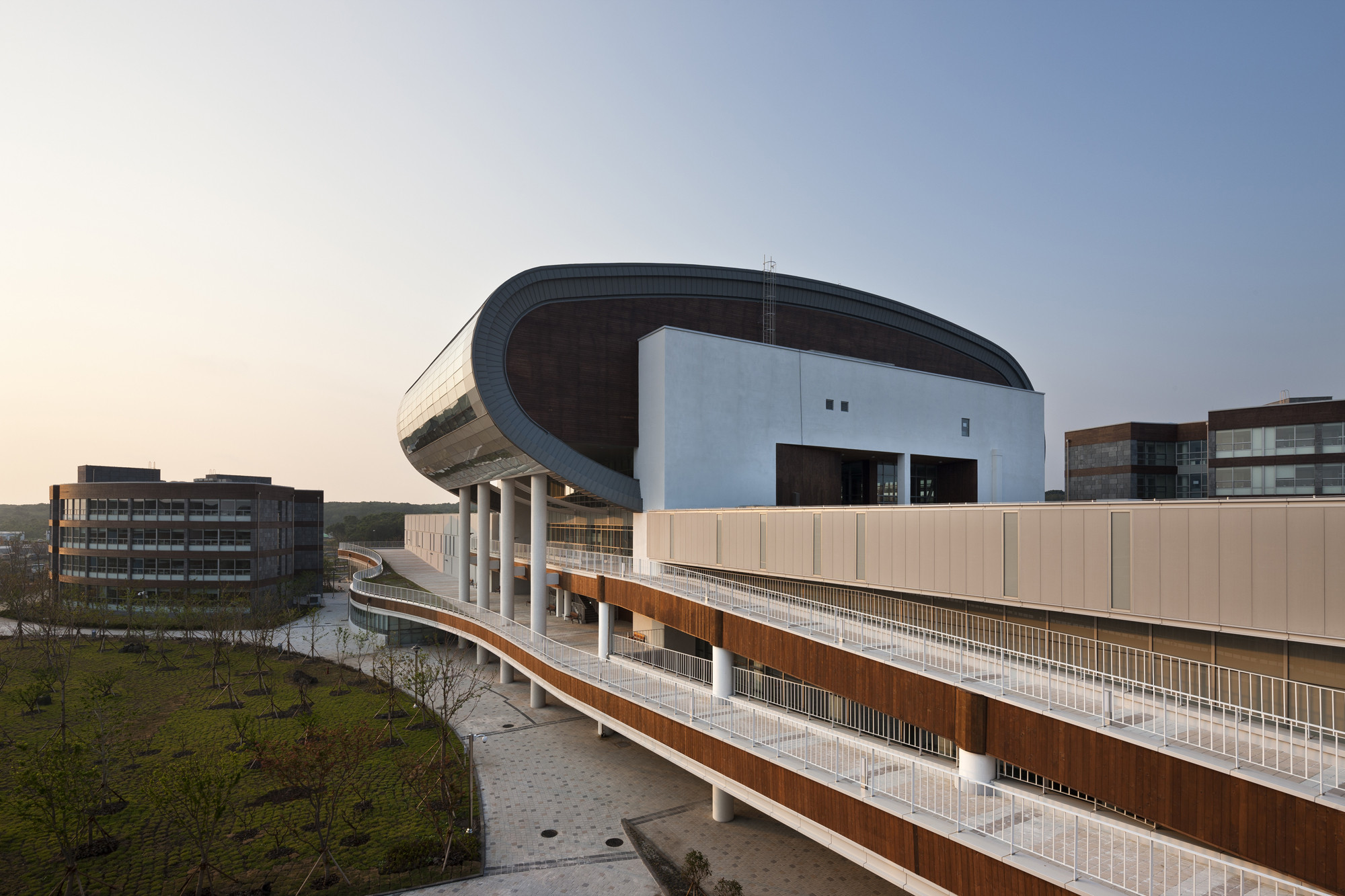 branksome hall asia jeju global education city samoo architects engineers