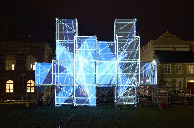 Pixel Cloud Installation / UNSTABLE, Courtesy of Marcos Zotes