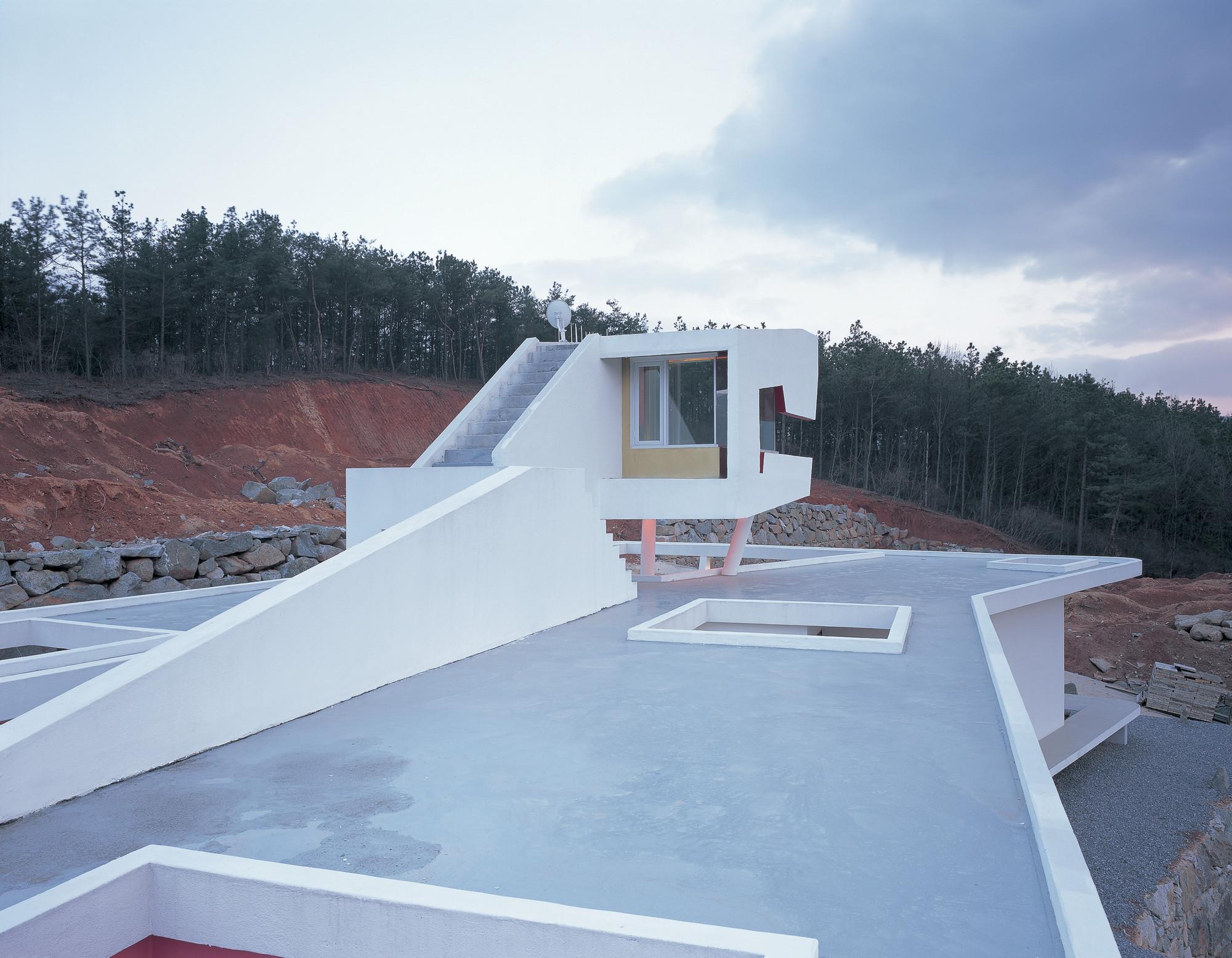 Galeria de casa s mahal moon hoon 16 for Moon architecture