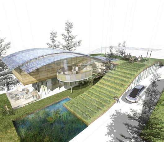 William McDonough + Partners imagina la casa sustentable del futuro funcionando como un árbol, ©  William McDonough + Partners
