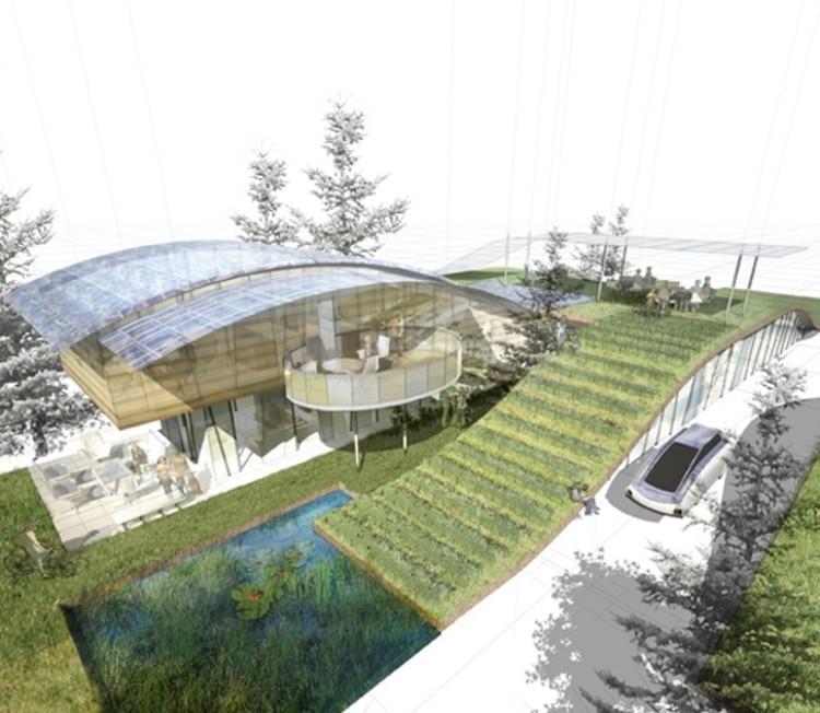 William McDonough + Partners Imagina a Casa Sustentável do Futuro Funcionando como uma Árvore, ©  William McDonough + Partners