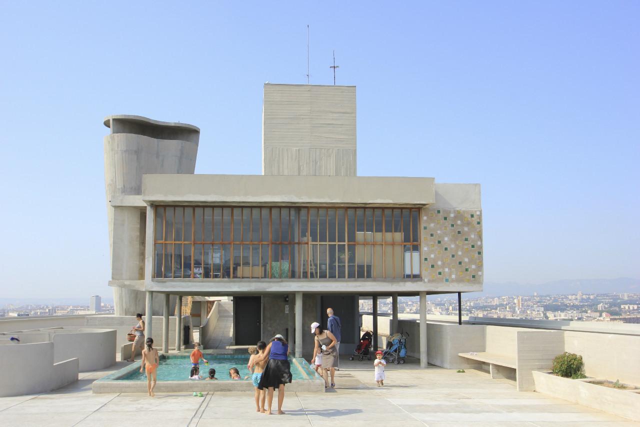 Le Corbusier Unite D Habitation gallery of le corbusier's cité radieuse rooftop to host