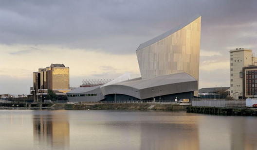 Imperial War Museum North by Studio Daniel Libeskind
