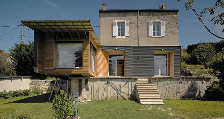 Maison A+C / atelier alassoeur, © Brice Desrez