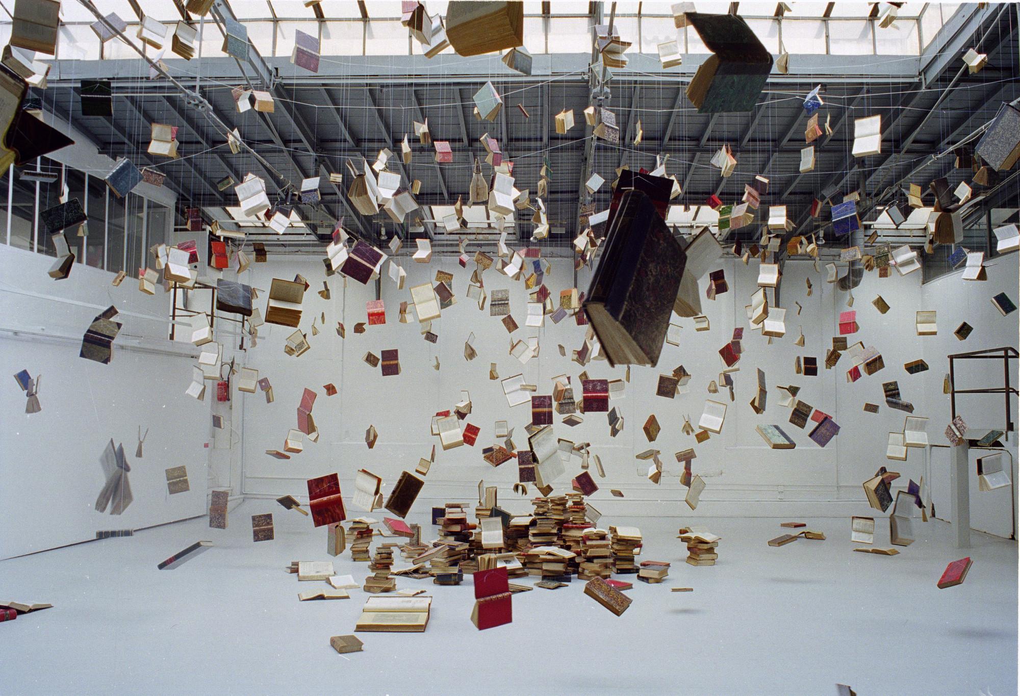 Exposición Biblioteca De Babel XI / José Ignacio Díaz de Rábago