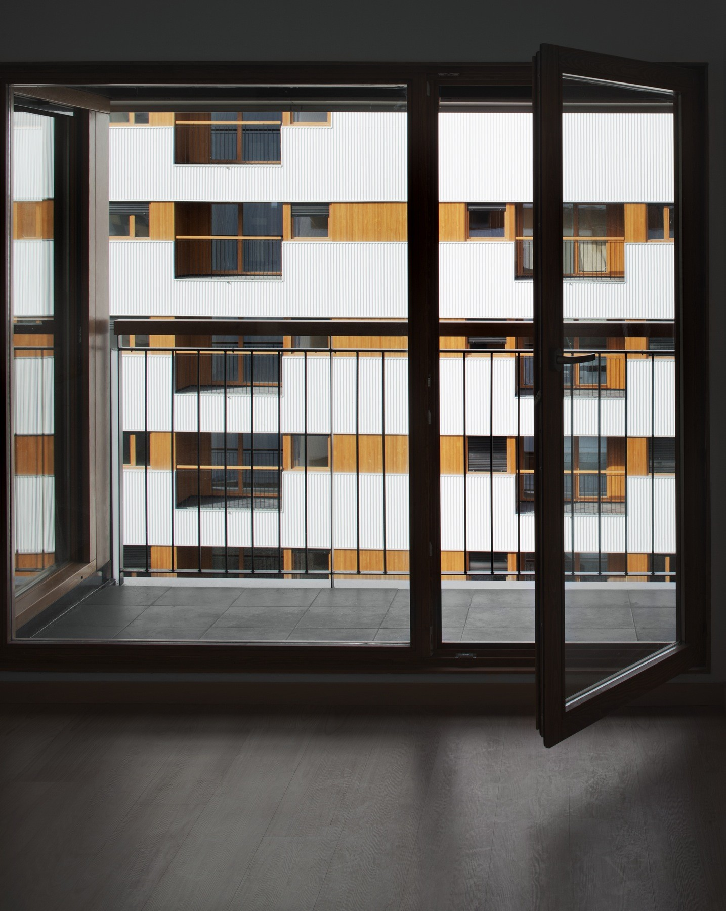 Galer a de nuevo grupo de viviendas de protecci n oficial en vitoria gasteiz acxt arquitectos 13 - Arquitectos en vitoria ...