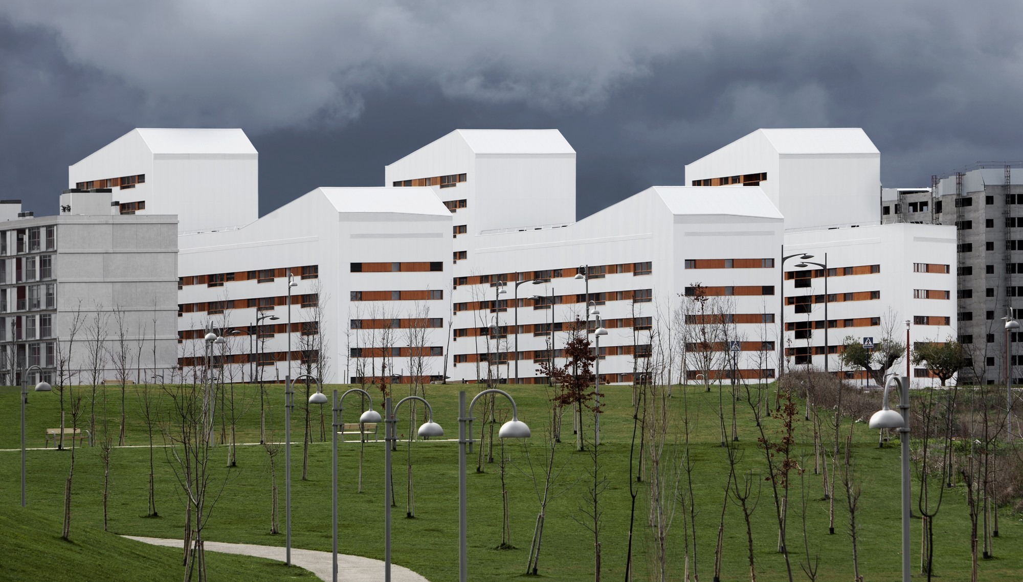 Galer a de nuevo grupo de viviendas de protecci n oficial en vitoria gasteiz acxt arquitectos 4 - Arquitectos en vitoria ...