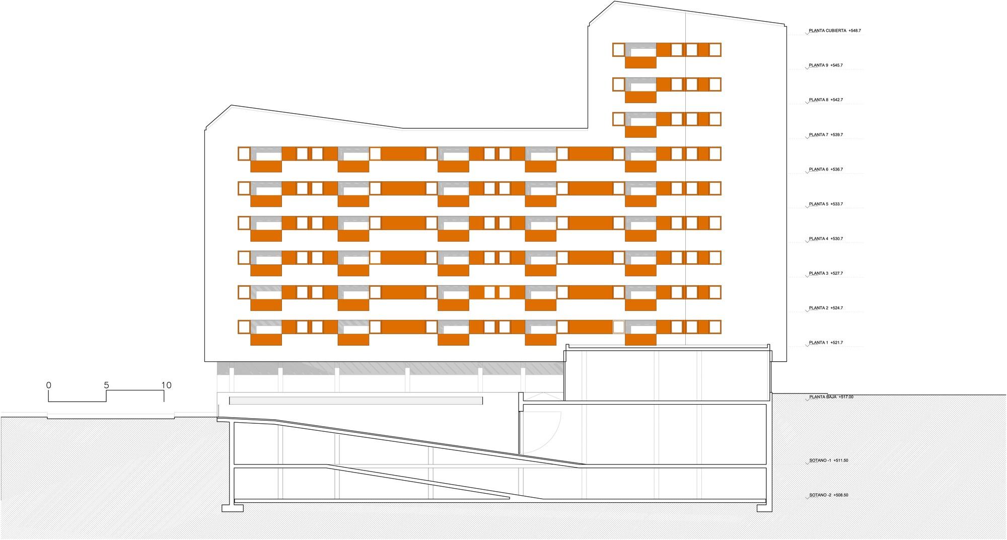 Galer a de nuevo grupo de viviendas de protecci n oficial en vitoria gasteiz acxt arquitectos 30 - Arquitectos en vitoria ...