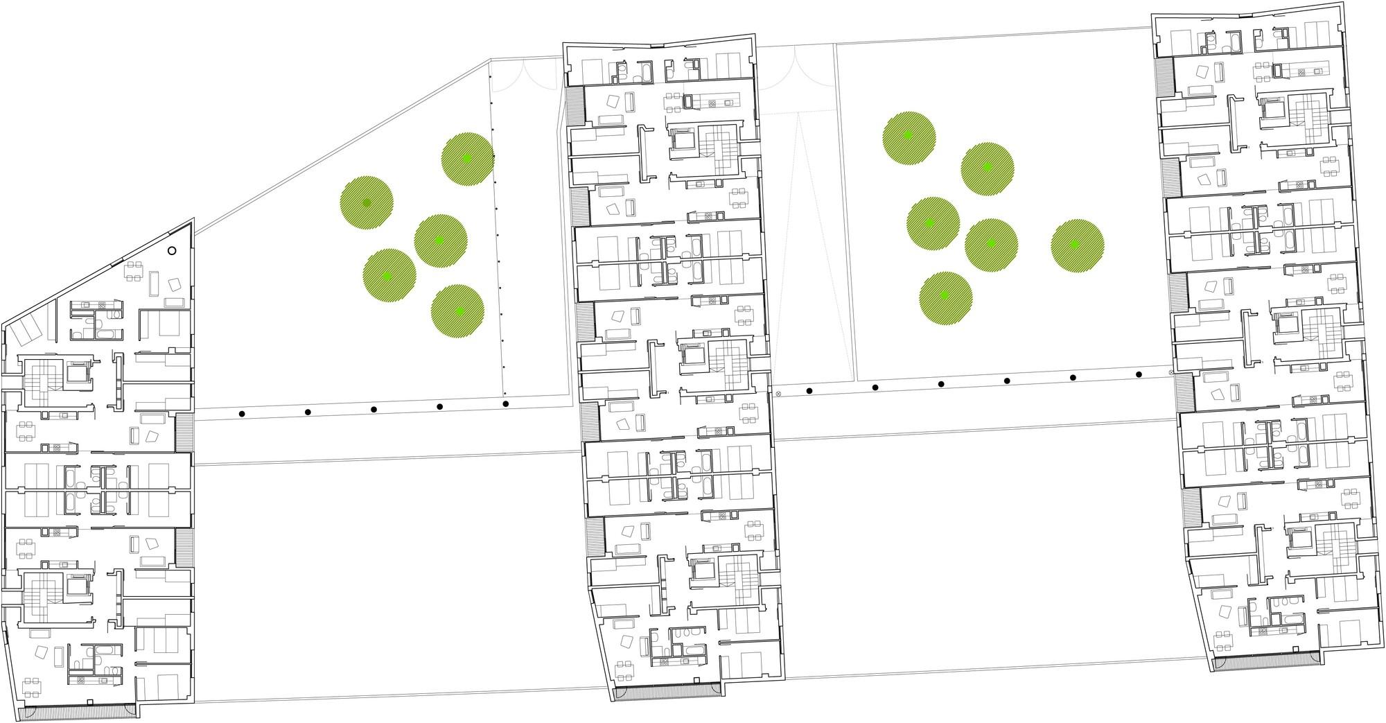 Galer a de nuevo grupo de viviendas de protecci n oficial en vitoria gasteiz acxt arquitectos 28 - Arquitectos en vitoria ...