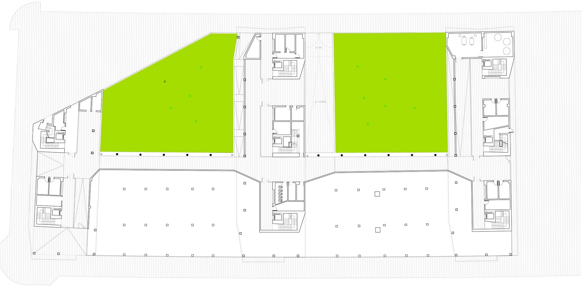 Galer a de nuevo grupo de viviendas de protecci n oficial en vitoria gasteiz acxt arquitectos 27 - Arquitectos en vitoria ...