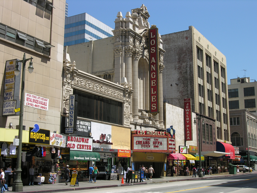 Teatro de Los Angeles, EE.UU. Via Wikimedia Commons.
