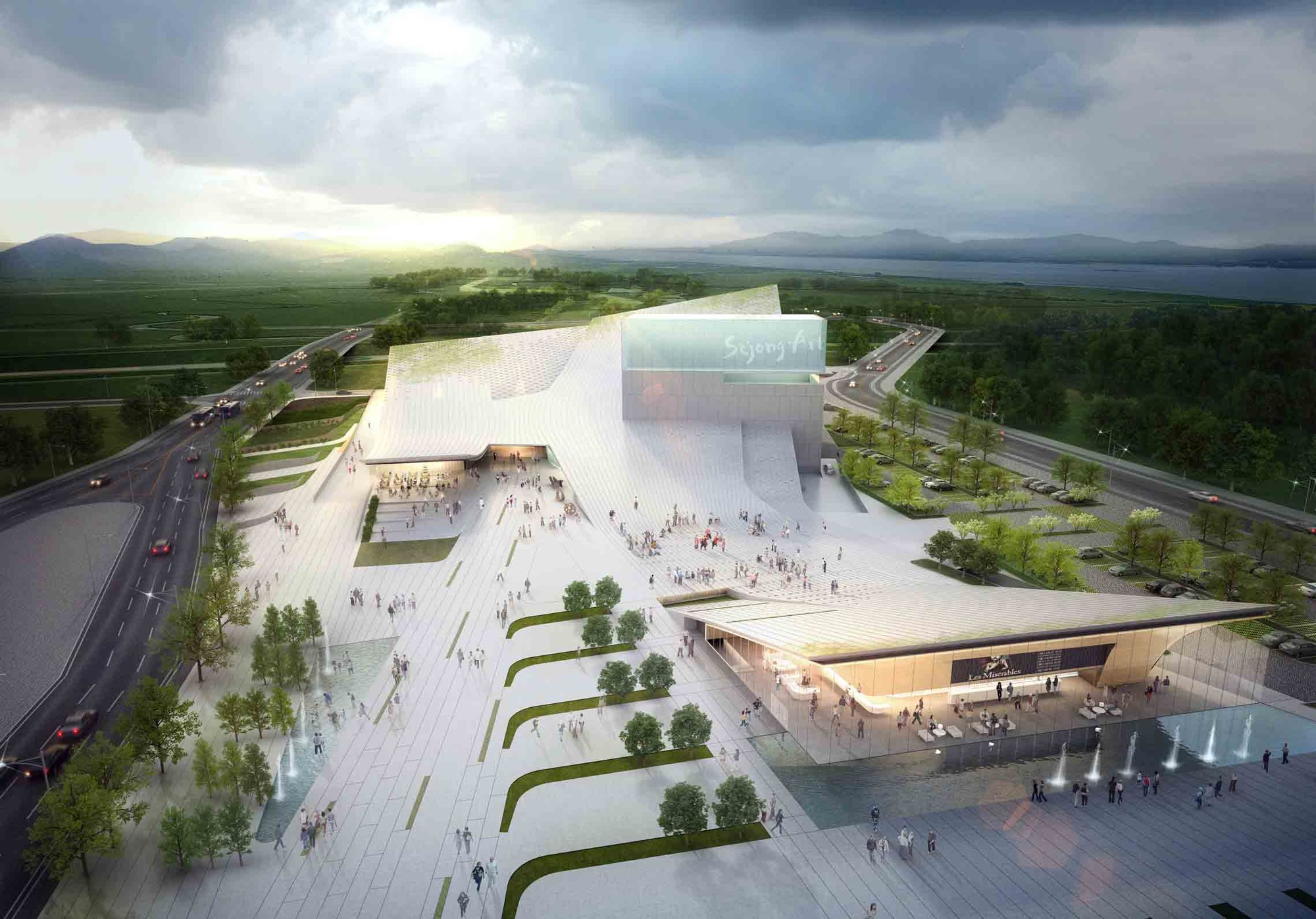 Gallery Of Sejong Art Center Winning Proposal Dmp Partners 11