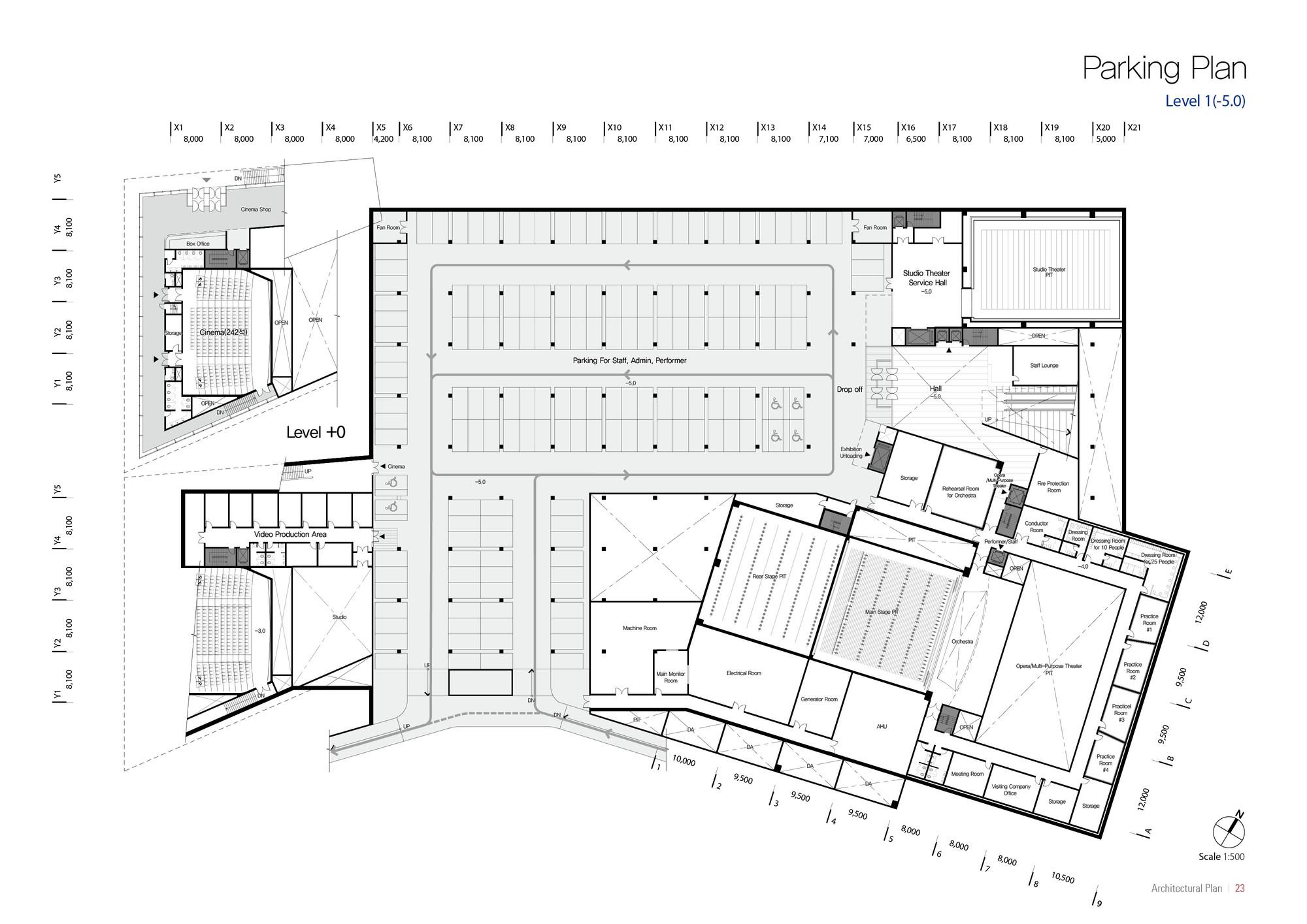 Gallery of Sejong Art Center Winning Proposal / DMP
