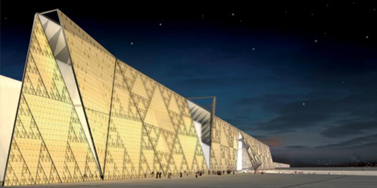 Pede-se 1 dólar de cada turista para terminar de construir o maior Museu do Egito, Cortesia do Grande Museu Egípcio