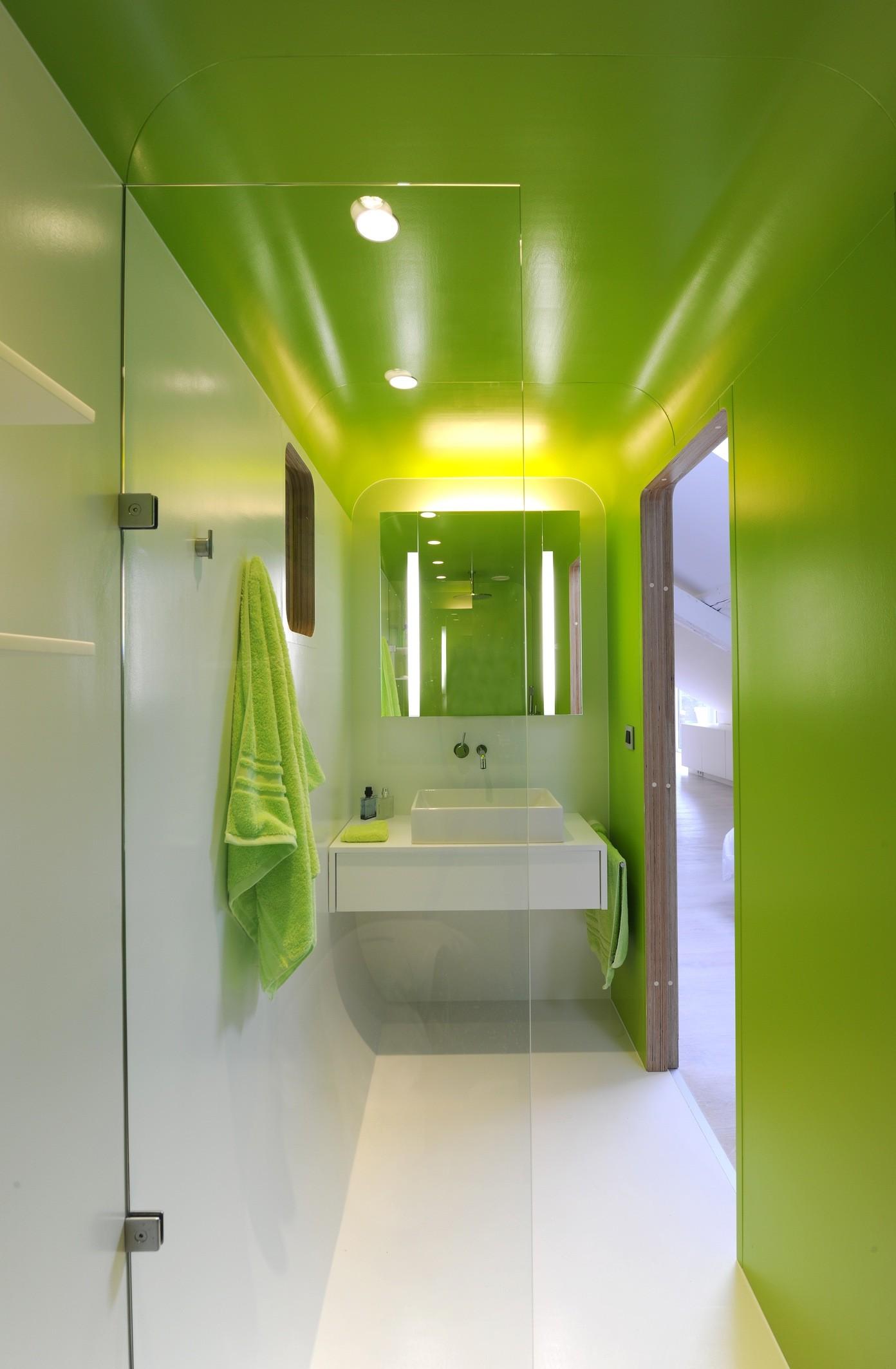 gallery of kempart loft dethier architectures 16. Black Bedroom Furniture Sets. Home Design Ideas