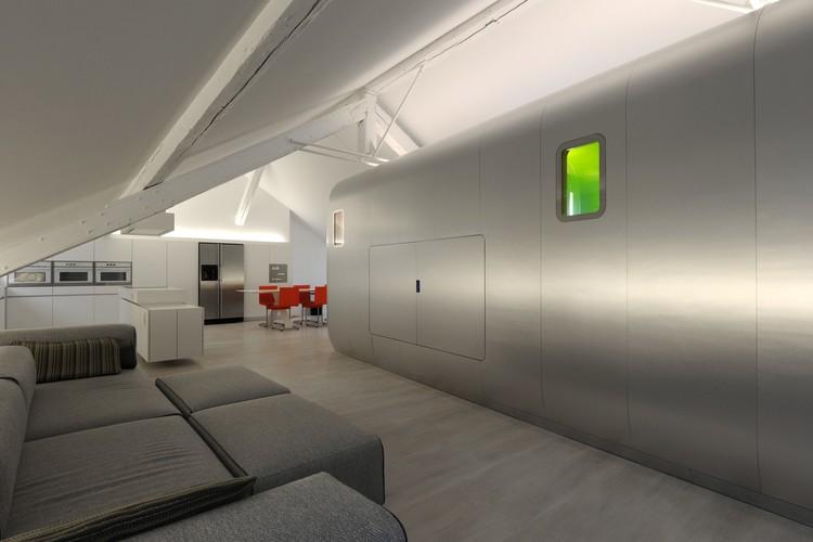 Kempart Loft / Dethier Architectures, © Serge Brison