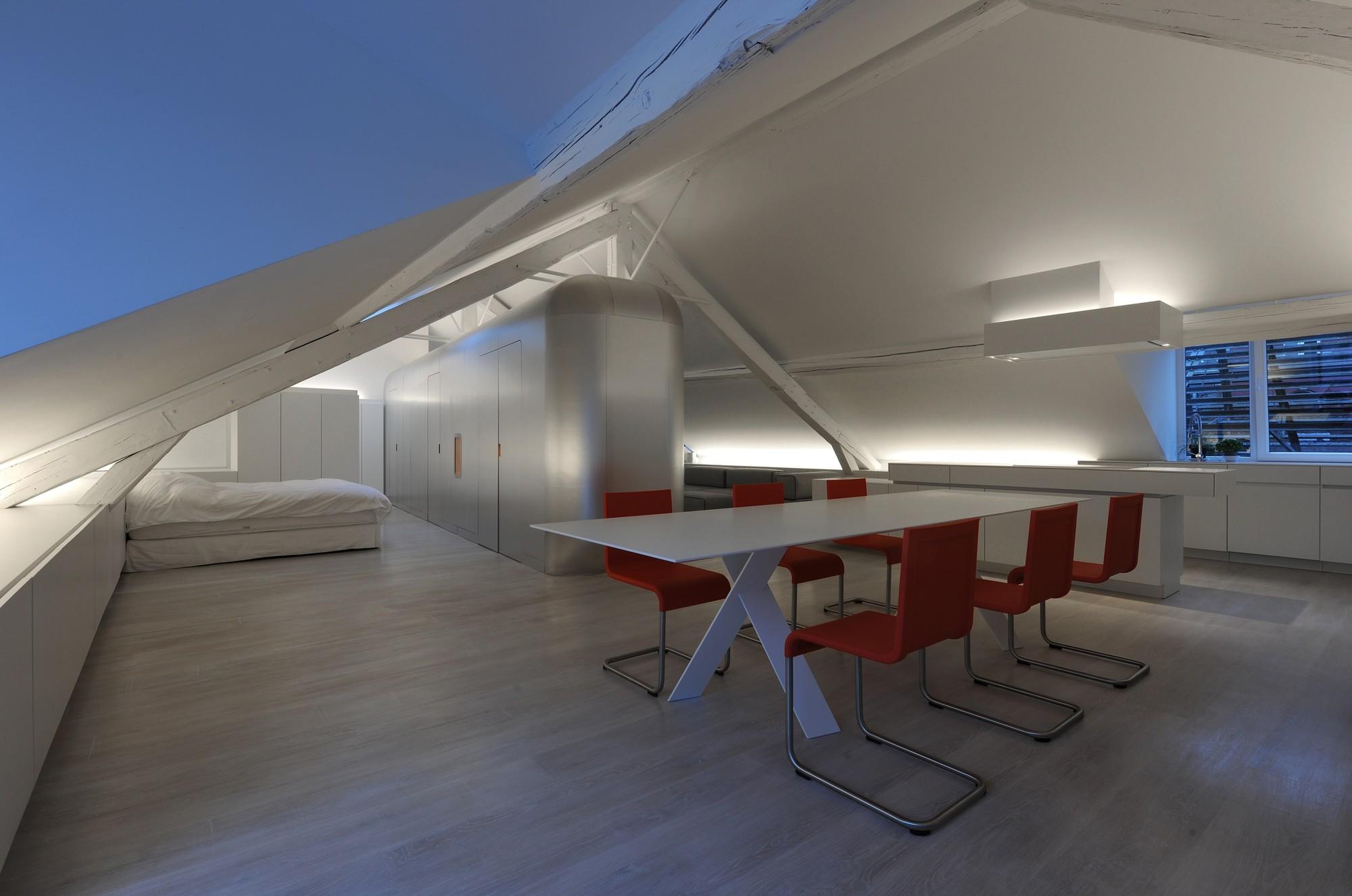 Kempart Loft / Dethier Architectures   ArchDaily