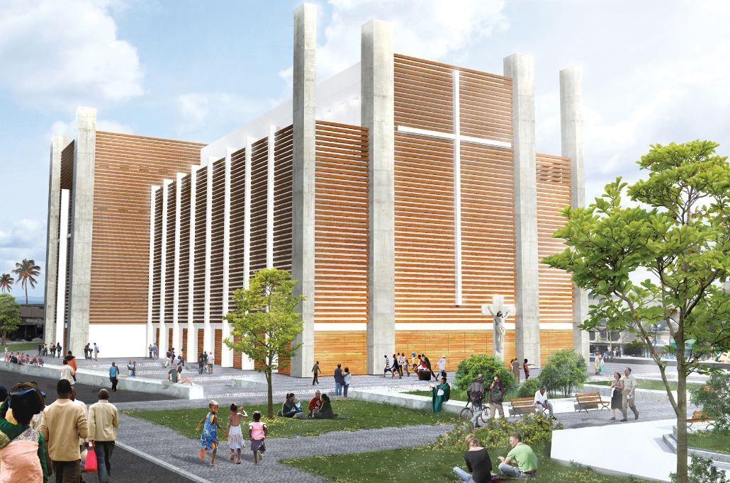 Notre Dame Haiti Cathedral Competition Entry / TABB Architecture, Courtesy of TABB Architecture