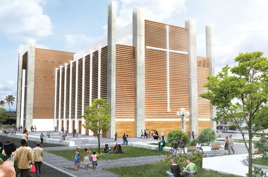 Notre Dame Haiti Cathedral Competition Entry Tabb