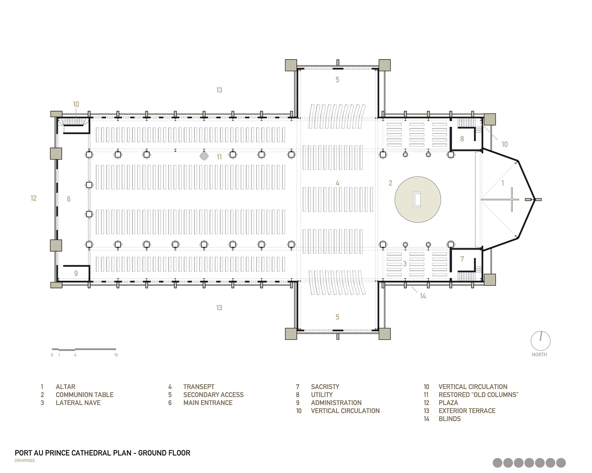 Gallery Of Notre Dame Haiti Cathedral Competition Entry Tabb Architecture 4
