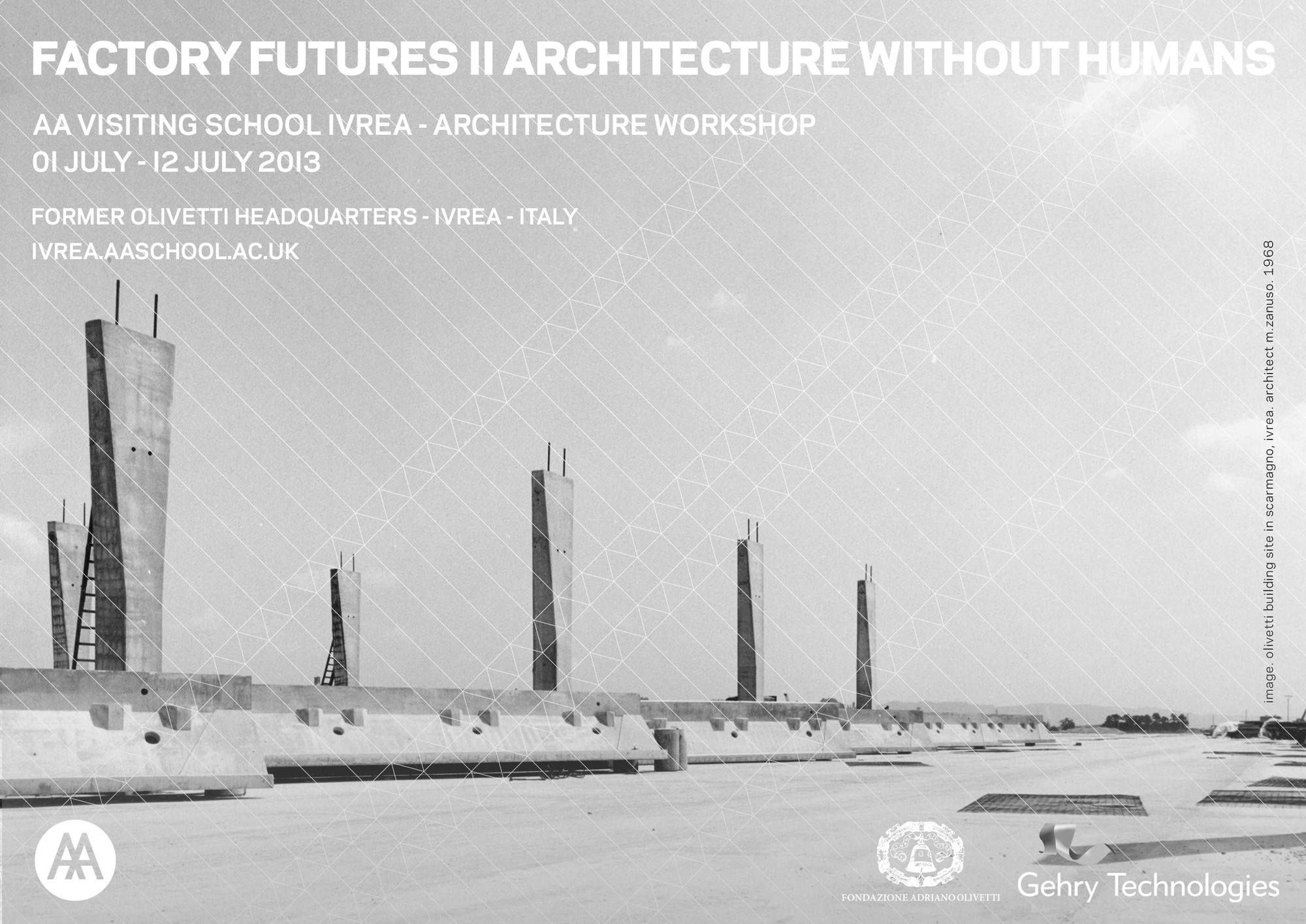 AA Visiting School Ivrea: 'Factory Futures II Architecture Without Humans', Courtesy of AA Ivrea Visiting School