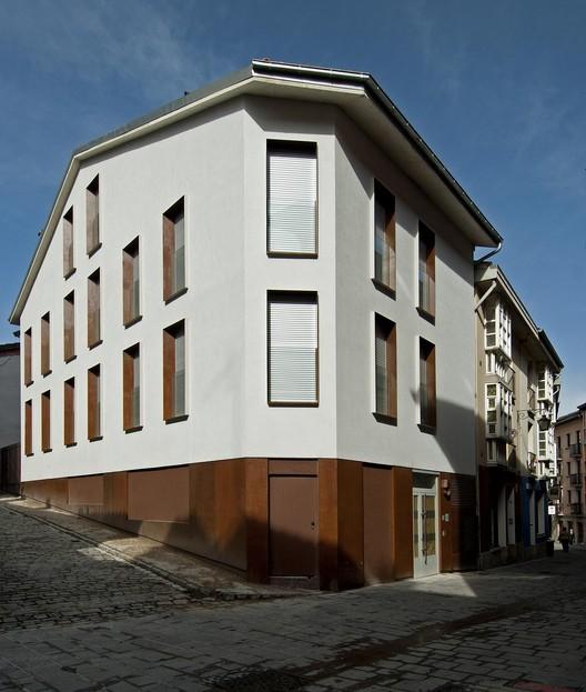 4 Habitações no Cantón de Santa María  / Patxi Cortazar, © César San Millán
