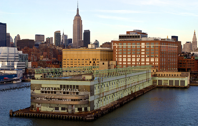 City Council Approves Redevelopment of NYC's Historic Pier 57, Courtesy of Young Woo & Associates