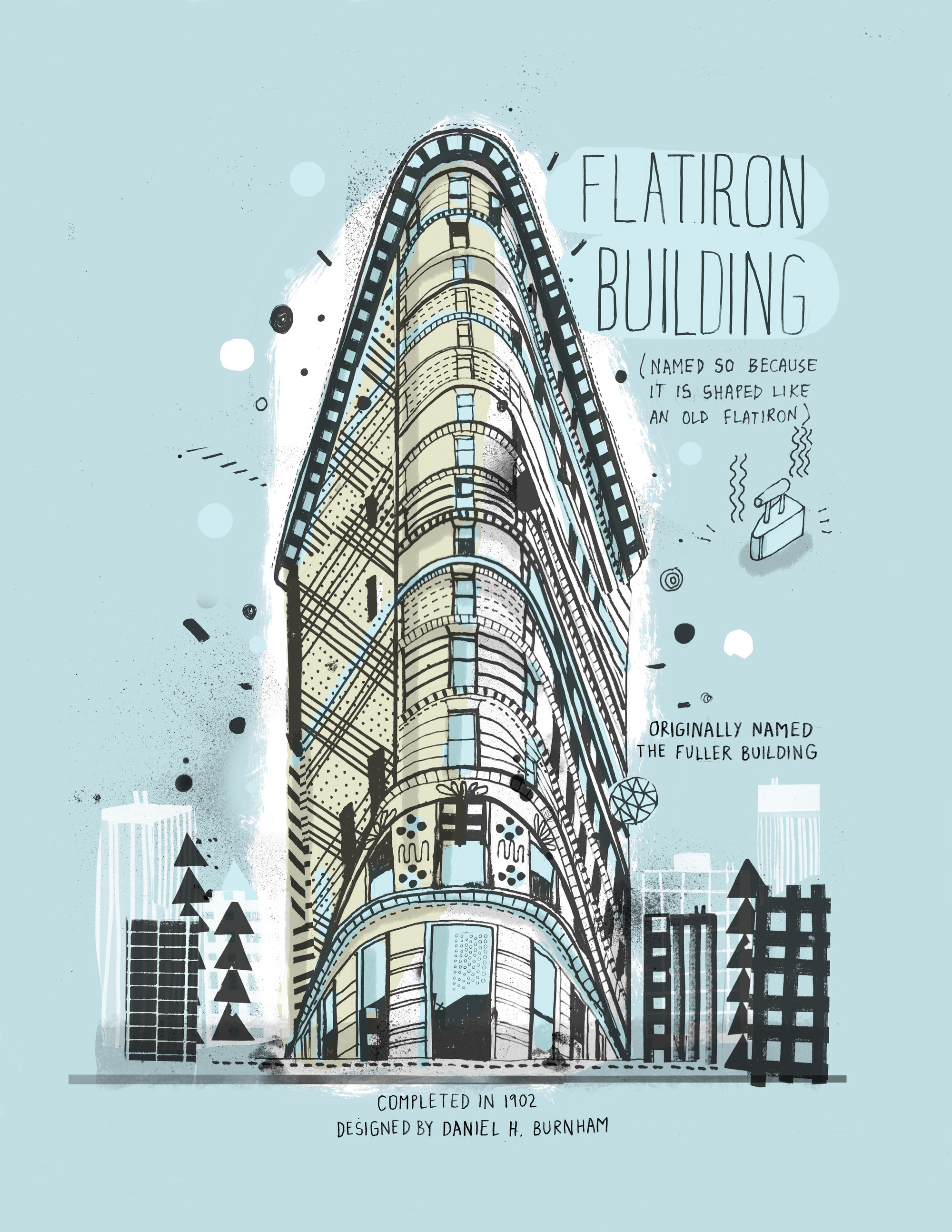 All the Buildings in New York...Drawn by Hand