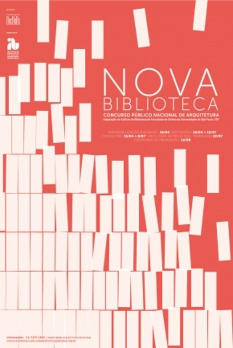 Concurso público nacional para a Nova Biblioteca Faculdade de Direito da Universidade de São Paulo, Cortesia de IAB
