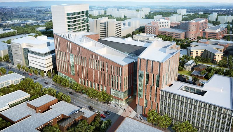 University at Buffalo's Downtown Medical School Proposal / HOK, Courtesy of HOK