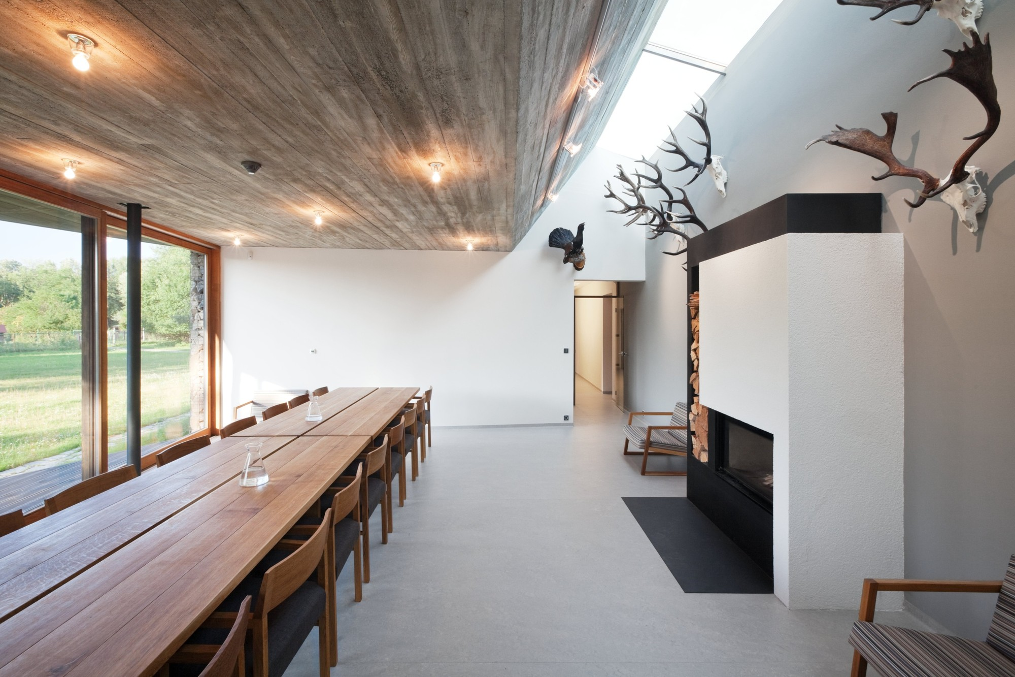 Hunting Lodge Basarch Archdaily