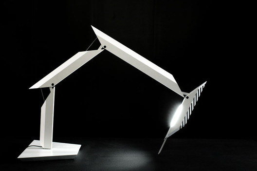 Paragon Table Lamp for Artemide / Daniel Libeskind © Gio Pini