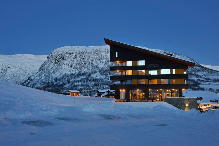 Hotel myrkdalen jva plataforma arquitectura for Ski design hotel
