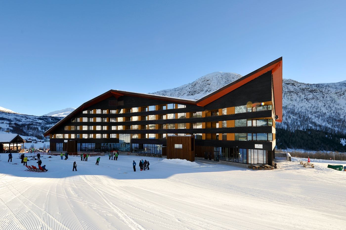 Myrkdalen hotel jva archdaily for Architecture hotel