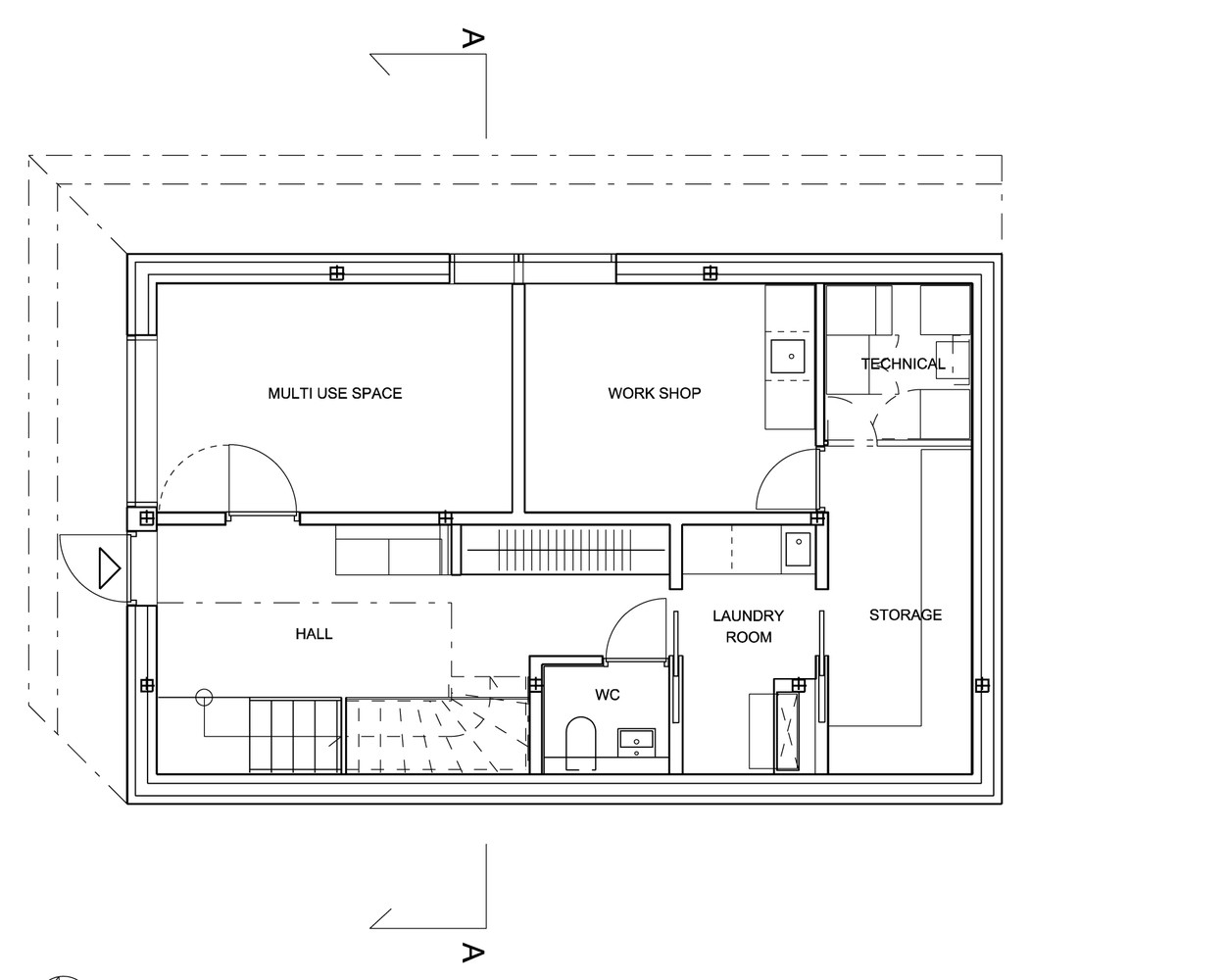 Gallery Of The Polite House Jva 21 Manufactured Home Pole Wiring Diagram Housebasement Floor Plan