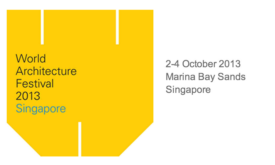 World Architecture Festival 2013: Submit your works!