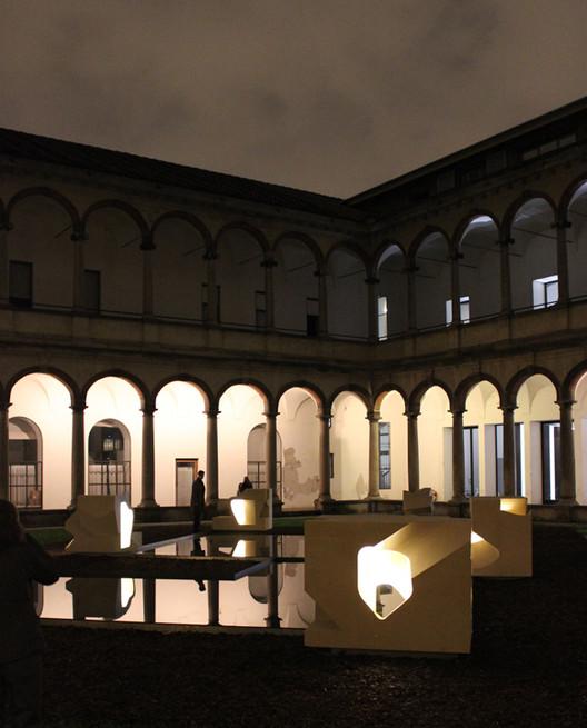INVERSION Installation at INTERNI Magazine's Hybrid Architecture Exhibition, © Chris McVoy