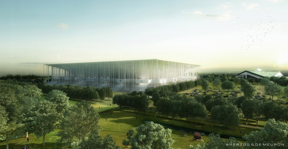 Herzog & de Meuron Breaks Ground on 'Grand Stade de Bordeaux', Courtesy of Herzog & de Meuron