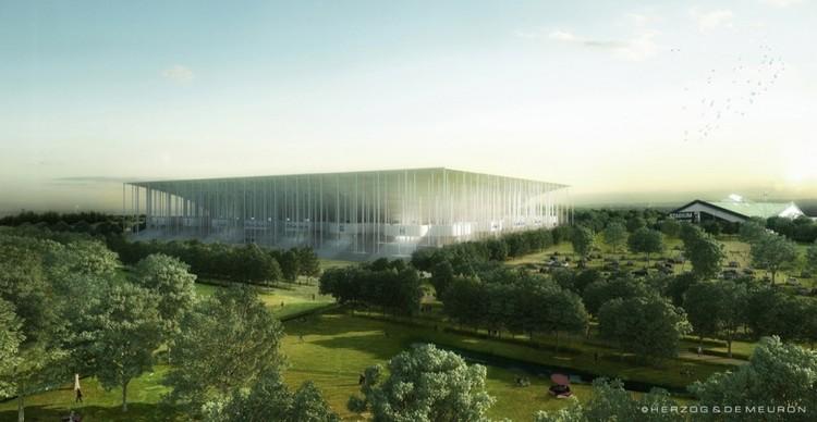 Herzog & de Meuron iniciam a construção do 'Grand Stade de Bordeaux', © Herzog & de Meuron