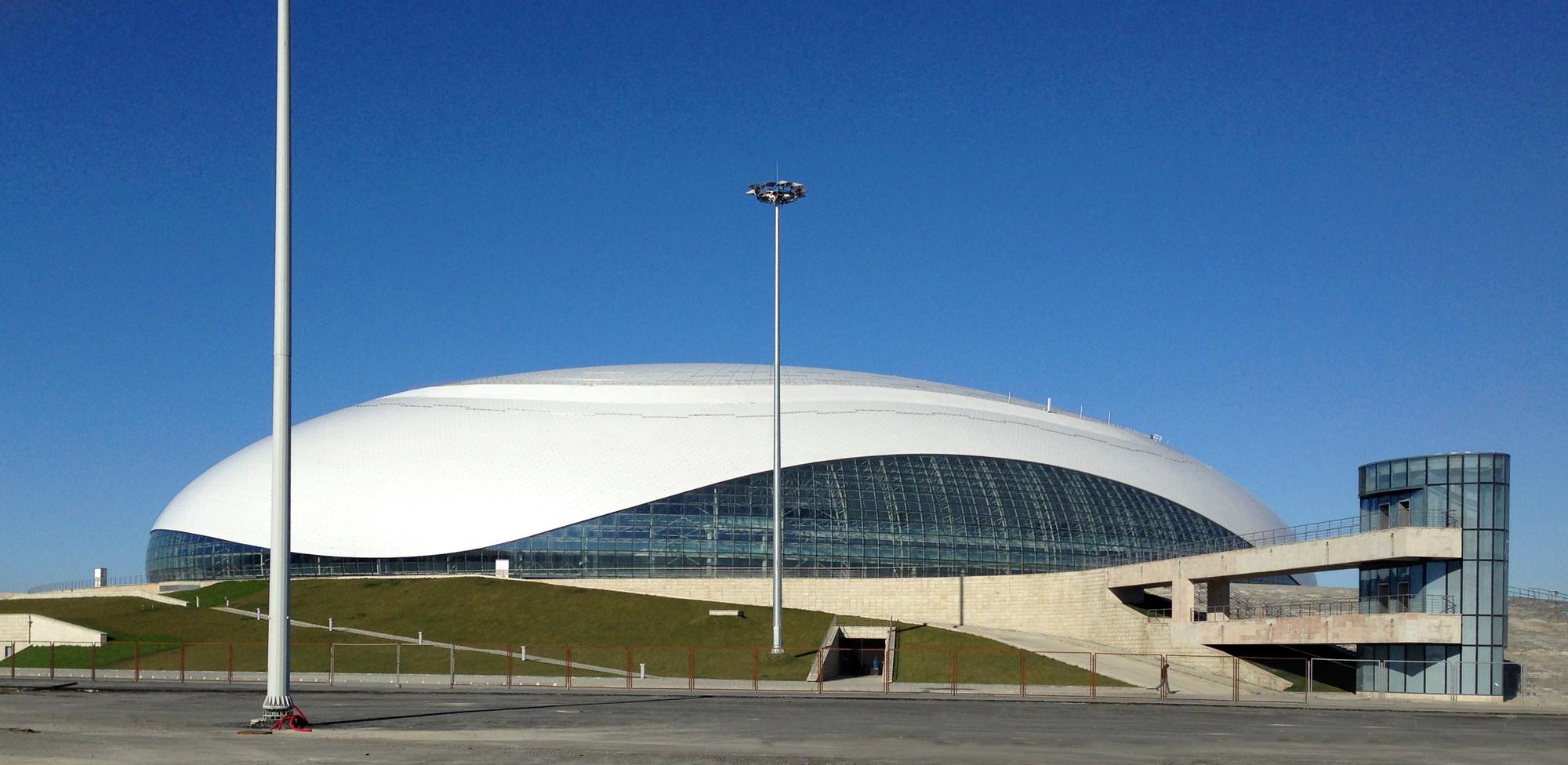 Ice Dome Bolshoy Sic Mostovik Archdaily