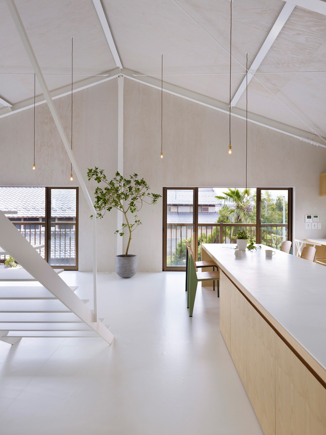 Gallery of house in yoro airhouse design office 9 for Minimalist living japan