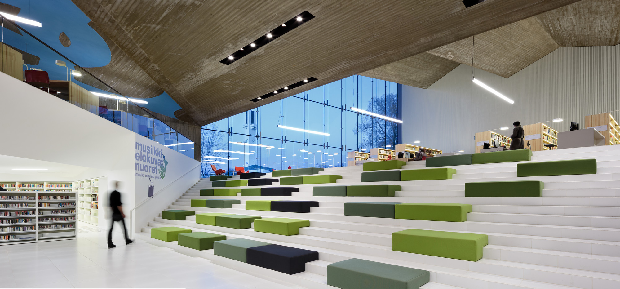 contemporary library architecture worpole ken